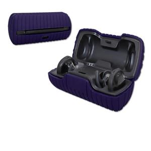 Наушники случае Bose SoundSport Free наушников Беспроводная гарнитура Bluetooth Защитная крышка силиконовый Split Solid Color
