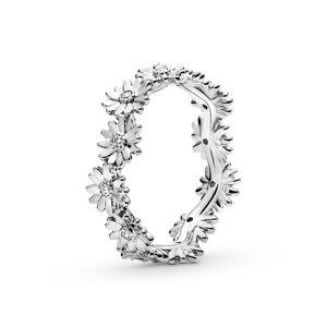 2020 neuer Frühling-925 Sterlingsilber-Sekt Gänseblümchen-Blumen-Kronen-Ringe für Frauen Ehering 925 Silber Schmuck Großhandel Schmuck 198799C01