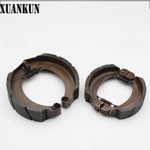 نوع الفرامل الحذاء 130160 XUANKUN الثلاثيه الكهربائية الفرامل الخلفية بعد بلوك ارتداء كتلة مقاوم للماء