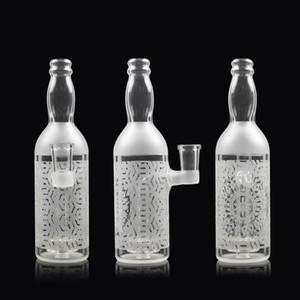 Único 7.2inch vidro bongo 4mm espessura garrafa bong espessa elefante articulação tubulação de água pilha de petróleo feitos mão bong água barata tubos