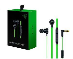 Новые Razer Hammerhead Pro V2 наушники в ухо наушник с микрофоном с розничной коробкой В Ear Gaming гарнитурами DHL
