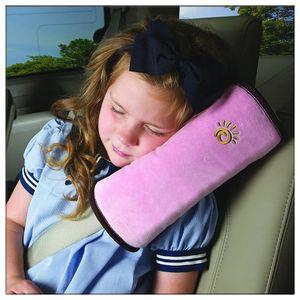 Acessórios Interior de carro da segurança da criança cinto de ombro cinta protetor de ombro de proteção cinto de segurança do carro pescoço travesseiro fixo