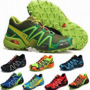 2018 New Zapatillas 스피드 크로스 3 캐주얼 슈즈 남성 크로스 크로스 운동 야외 하이킹 운동 스니커즈 사이즈 36-46
