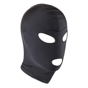 4 estilo Adulto Sexy Toys alta Stretchy respirável Sponge Fetish capa máscara de cabeça de Bondage