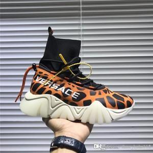 Primavera 2020 botas de estilo pasarela calcetines, atmosférica característica resistente al desgaste de vacío antideslizante suela de los zapatos amante con paquete completo