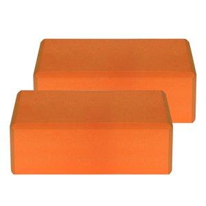 1PCS   2PCS EVA Yoga Blocks Latex-free Non-slip Surface for Yoga Pilates Meditation