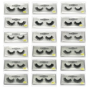 32style 5D False Eyelashes Handmade Natural Long Soft Premium Quality Mink Fake eyeLashes Makeup Reusable Eyelash