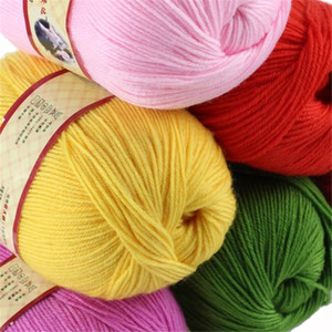 A mano el hilado de la ropa Suéter Caliente nueva cachemira hilados de lana mezclada de acrílico 500 g / T200601 mucho