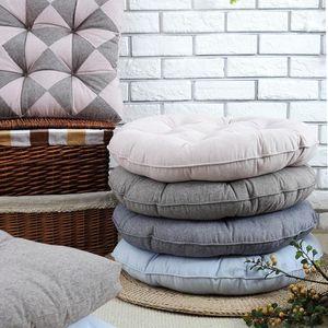 Cuscini per sedie Sala da pranzo casa Divano cuscino di tiro Tappetino Sedia da ufficio cuscino del sedile Seduto Outdoor Furniture rotonda 48 centimetri 53 centimetri SH190814