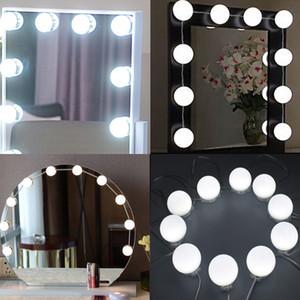 LED Vanity Specchio Luci Kit con dimmerabile lampadine, apparecchio di illuminazione Striscia per Makeup Vanity Table Set