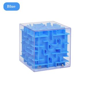 3D Maze Magic Cube de seis lados enigma transparente velocidade cubo bola rolante Game Cube Maze Brinquedos para Crianças Educação