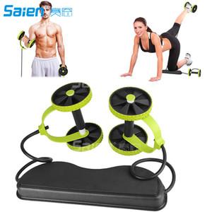 Nouveau Sport Core Double AB Roue De Remise En Forme Abdominal Exercices Équipement Taille Minceur Formateur à La Maison Gym