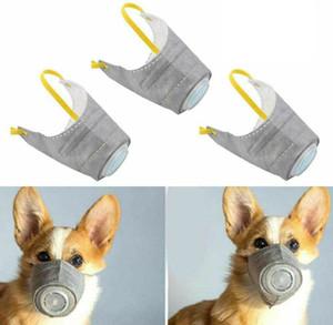 Máscaras Pet Dogs sair a respiração de poeira cobrir a boca Nova máscara protetora tampa da neblina anti-fog com máscara saúde do cão válvula