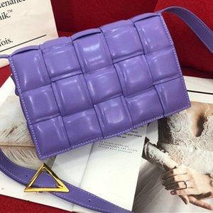 2020 signore borsa messenger bag in pelle sacchetto di modo borsa tessuto portafoglio