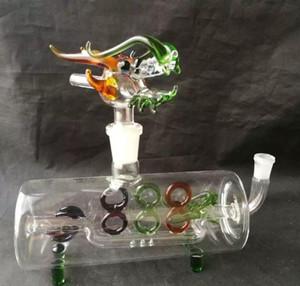 Cruz del tubo de agua, vidrio al por mayor Bong Accesorios, Vaso de agua que fuma del tubo, envío libre