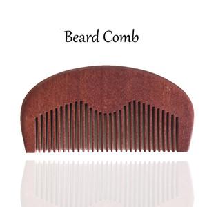 Brand New 10pcs / серия карманных волос Борода Comb Amodong Wood Fine Tooth Уход за волосами Стайлинг инструмент Антистатический Идеально подходит для бороды нефтяной компании