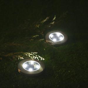 Solar Ground Lights 4 LED Solar Garden Lamp Waterproof Ground Outdoor Landscape Lighting for Patio Pathway Lawn Yard Deck Driveway Walkway