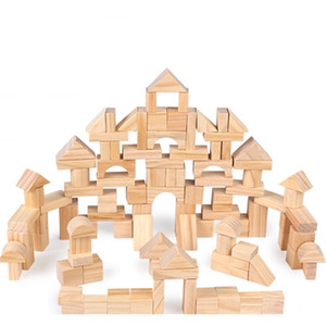 FlyingTown100pcs 무료 유아 장난감 유아 장난감 빌딩 블록 장난감 montessori