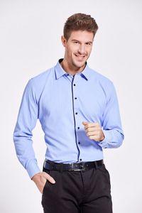 Heiße Verkaufs-Qualitäts-Männer Langarm-Shirt Twill Fest Causal formale Geschäfts-Hemd-Marken-Mann-Kleid Shirts DS085