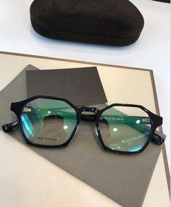 TF809 Frame Herren Clear Grau de Herren Womens Gläser und Frames Retro Lense Gläser Oculos und Myopie Frauen Myopie Brillen Brillen MJTPQ
