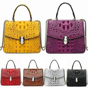 Realer Bag Women Designer Crocodile Shoulder Bag High Quality Female Hobo Bag Soft Artificial Leather Large Crossbody Bags Ladies J190614#254