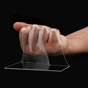 Nano Magic Bant Traceless Yıkanabilir Yeniden kullanılabilir Yapıştırıcı Bant Şeffaf Çift Yapıştır Fotoğraf ve Paspas Çıkarılabilir Bant Telefon Tutucu Taraflı