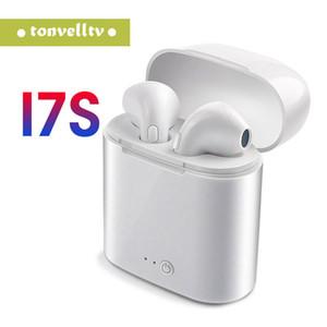 Gros i7s TWS mini casque sans fil Bluetooth avec micro écouteurs stéréo In-Ear Twins écouteurs pour iPhone X Samsung Huawei