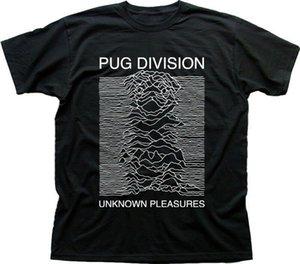 PUG Division Unknown Pleasures inspiré coton Pulsar t-shirt 5020