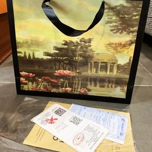 Christmas Gift Original Designer Handbag Gift Bag Luxury Handbags Purses Women Handbag Shoulder Bags Parts Accessories Gift Bags+Receipt