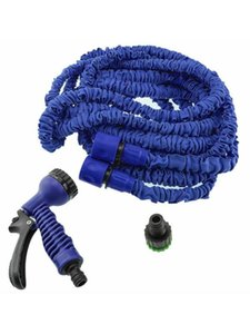 Expandable Magic Flexible swiming Hose To Watering With Hose Space Saving Double Layers Retractable Water Pipe 25-150FT