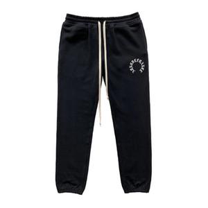 Hot ARNODEFRANCE ADF19 Pants Black Drawstring Trousers Sweatpants Vintage Street Casual Men Women Comfortable Sport Pants HFHLKZ019