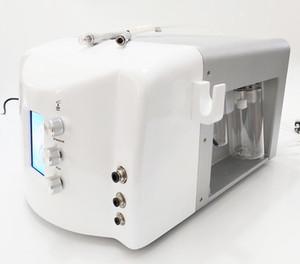 여드름 및 안료 제거를위한 1 개 다이아몬드 미세 박피 hydradermabrasion 수력 박피술 얼굴 기계 2 휴대용