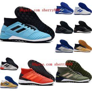 2020 en kaliteli erkek erkek futbol ayakkabıları Predator 19.3 TF futbol krampon kadın çocuk futbol ayakkabıları scarpe da calcio boyutu 35-45