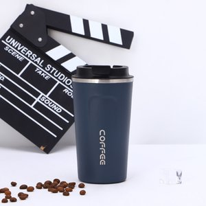 New 380ml 500ml Stainless Steel Tumbler Vacuum Water Bottle Car Coffee Cup Outdoor Leisure Drinking Bottle