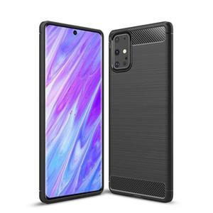 Para Samsung Galaxy Note20 Ultra S10 Lite Nota 10 Lite A01 A21 M11 A21s A31 A51 A71 A11 A41 Silicone Proteção da Pele Gel macio TPU
