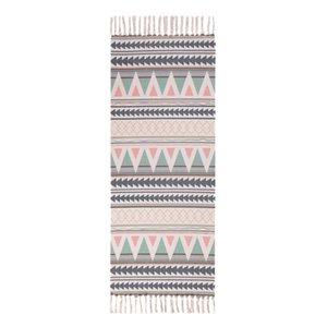 Cotton and Linen Tassel Woven Carpet Floor Mat Door Bedroom Tapestry Decorative Blanket Living Room Carpet Area Rug
