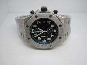 Venda quente top qualidade homem relógio de quartzo cronômetro homem cronógrafo relógios relógio de pulso de aço inoxidável para homens pulseira de aço a10