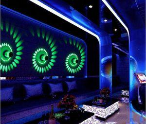 Parti Wand Bar Lambası Dekorasyon KTV için Renkli Led Duvar Lambası Işık Efekt Lambası