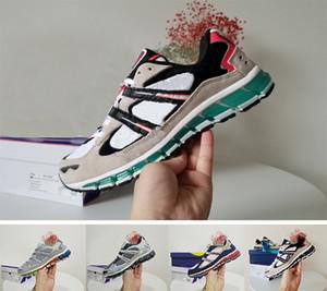 Zapatos para caminar Asics GEL-Kayano 360 5 juvenil para hombre Nueva Ejecución de amortiguación GEL Zapatos Blanco Verde estudiantes las zapatillas de deporte