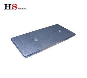 Рутений иридий титан с покрытием анодной пластина 110 * 60 * 0,5 мм для водорода Соль Хлоратора титанового анода для очистки воды Water MMO