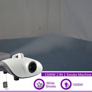 Sharelife 220-240V Controle Remoto 1500W termostática fumaça Fog Machine para DJ Festa Programa clube KTV Stage Lighting Effect W1500