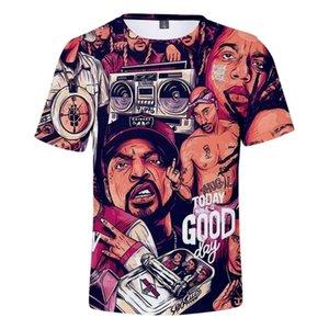 Notorious BIG camisa T de los hombres de Harajuku Hip Hop camiseta para Biggie rapero Notorious Tees B.I.G. Verano 3D Tops manga corta camiseta
