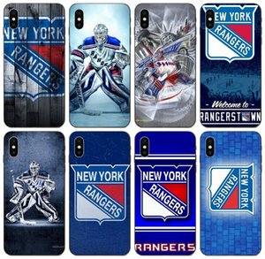 [TongTrade] New York Rangers Logo-Muster-Mode-Fall für iPhone X XR XS 11 Pro Max 8 7 6s 5s Plus-Galaxy on5 ON7 Huawei P7 Lite LG K8-Fall
