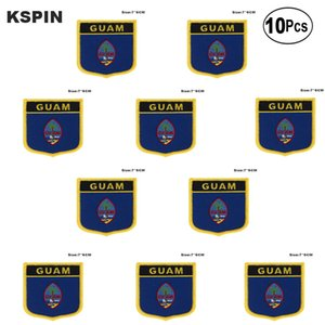 Guam Patches Eisen auf Saw on Transfer patches Nähen Anwendungen für Bekleidung in HomeGarden 10Pcs viel 10Pcs viel
