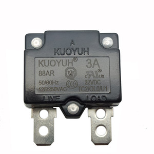 Taiwan KUOYUH Overcurrent Protector Overload Switch Automatic Reset 3A 88AR Series