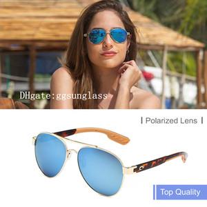 Womens Beach Lifestyle Occhiali da sole LORETO HD polarizzati vetri di sole Surf / Pesca occhiali di design di lusso uomini sunglasses Costa Occhiali da sole