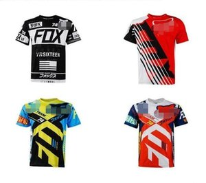 Off-road motorcycle racing suit off-road motorcycle clothing FOX breathable quick-drying comfortable sunscreen casual clothes short-sleeved