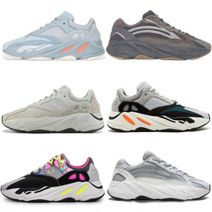 2019 Geode Inertia Wave Runner 700 zapatos v2 estáticos 3M zapatillas kanye west Negro Verde blanco raya de cobre zapatillas deportivas de deportes al aire libre