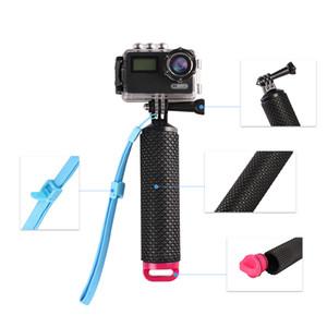 La migliore vendita 4K sport fotocamera galleggiabilità bastone asta di immersione asta galleggiante selfie bastone gopro hero4 / 3 +