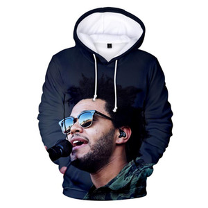 The Weeknd 3D Hoody Mujeres Hombres Aikooki Hot Fashion Imprimir Popular Casual Hip Hop El fin de semana Hoodie 3D Casual Abrigos Tops